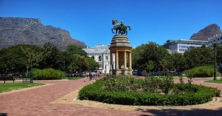 Company Gardens - Table Mountain and Lion's Head
