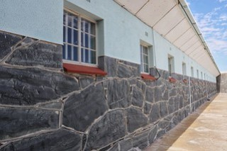 Nelson Mandela's prison block, Robben Island