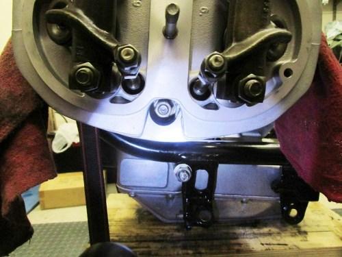 Lower Head Stud Installed