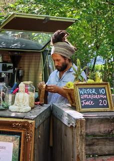 Coffee, Franschhoek market