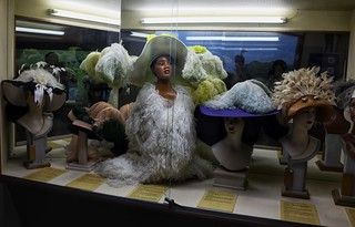 Ostrich feathers in fashion - CP Nel museum