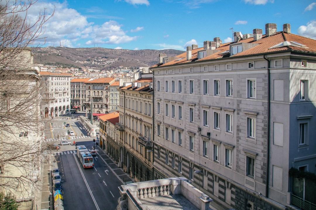Trieste dall'alto, Colle di San Giusto