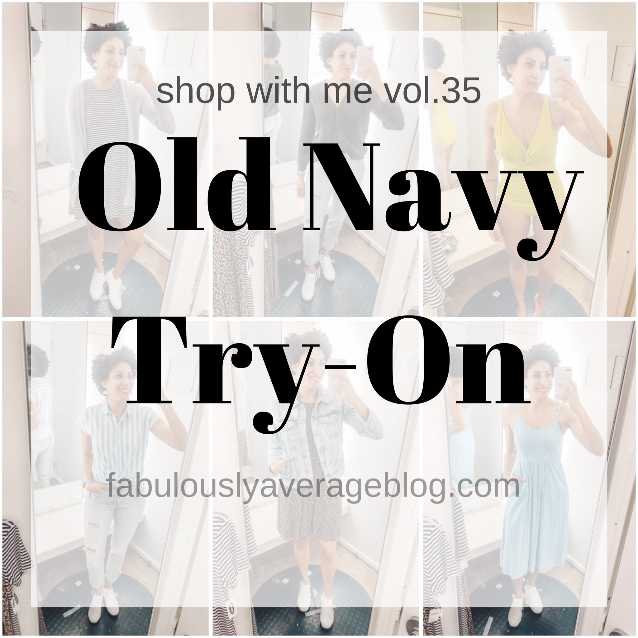 Fabulously Average Quick Old Navy Try On