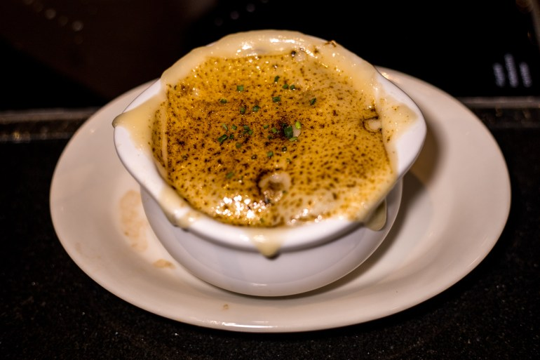 LITTLE JOE'S STEAKHOUSE Honolulu - French Onion Soup