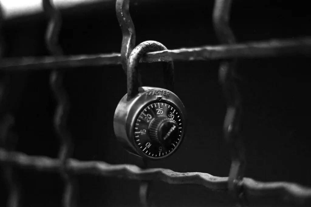 All locked up