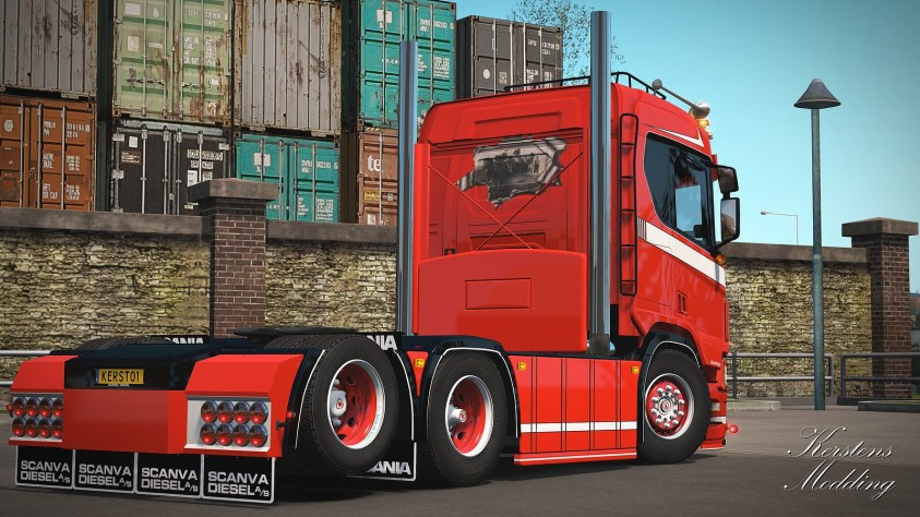 Kleinjan R650 long boogie chassis