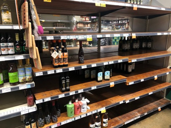 Whole Foods Shelves - 3-16-20