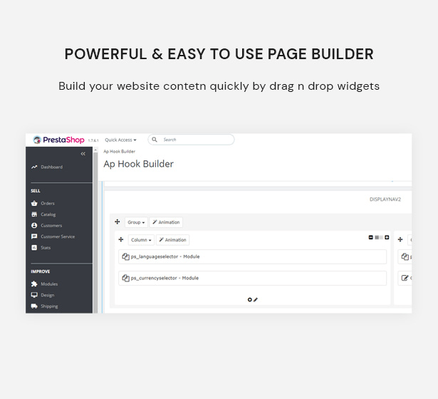 Powerful & Easy to Use Page Builder