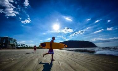 Praia e surf