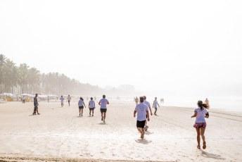 Corrida na praia