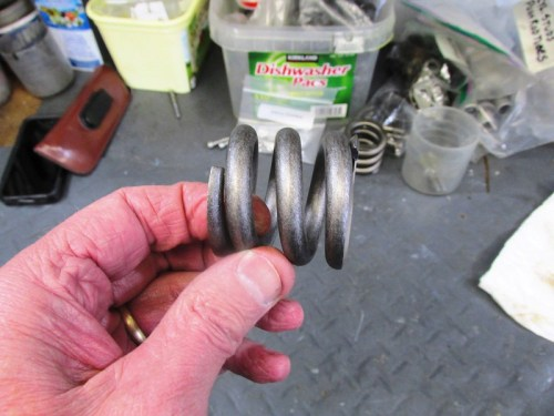 """C""-Drive Shaft Spring"