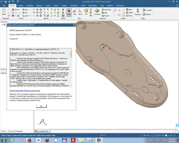 Working with ANSYS SpaceClaim 2020 R1 full