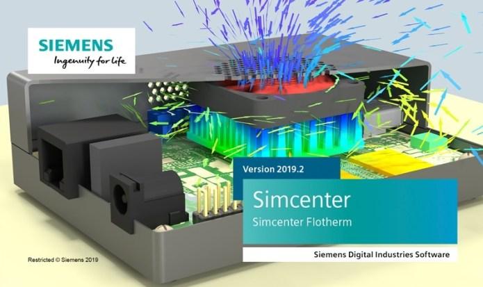 Siemens Simcenter FloTHERM 2019.2 full