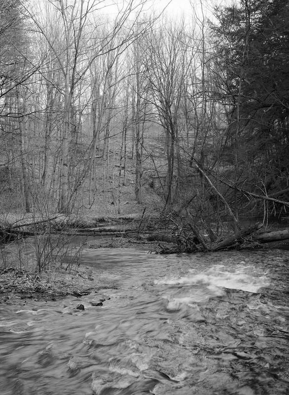 Geyser Creek, late winter flow