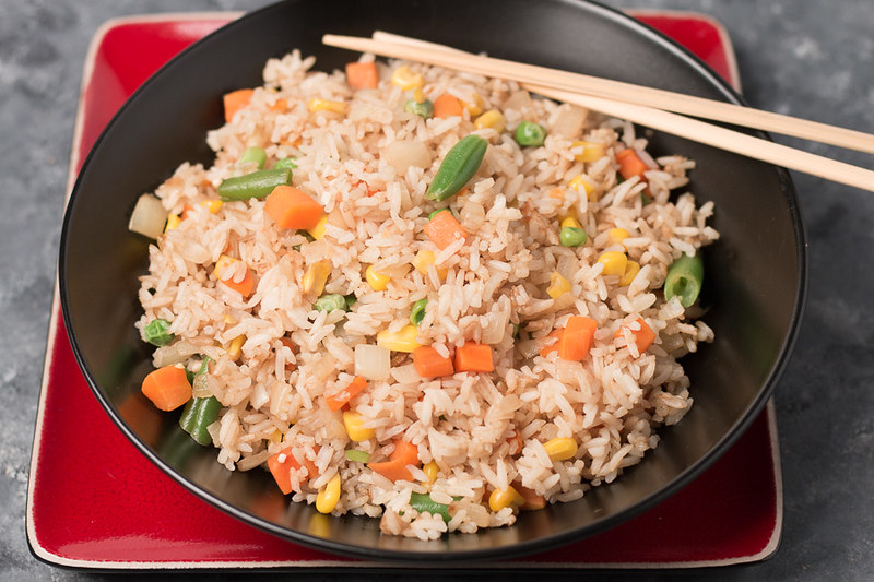Fried-Rice-on-bowl-plate