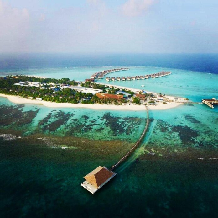 Movenpick Resort Kuredhivaru Maldives - Aerial View - B