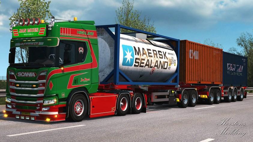Dtec trailer ETS2