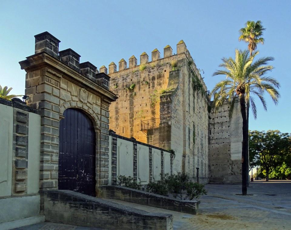 Torre del homenaje o de Don Rodrigo Ponce de Leon Marques de Cádiz Alcazar de Jerez de la Frontera Cadiz 03