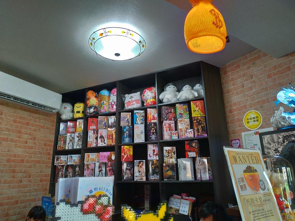 【彰化美食】小蔡的ALL BLUE-公仔主題餐廳 @ 長腿先生與貓小姐 :: 痞客邦