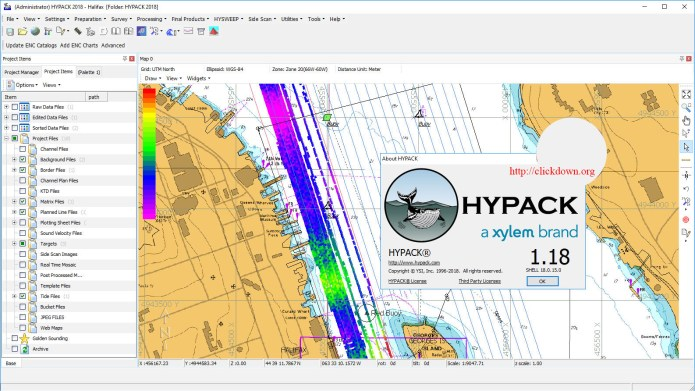 Working with HYPACK 2018 full license