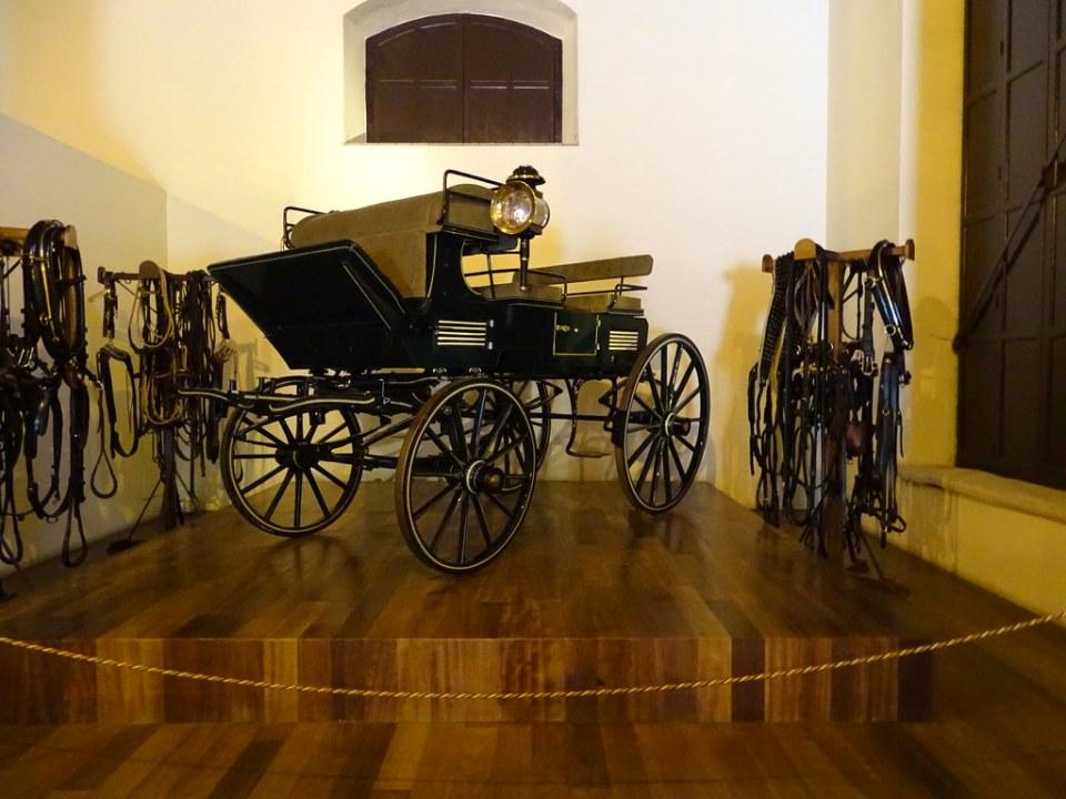 carruaje de caballos Museo del Enganche Jerez de la Frontera Cadiz 01