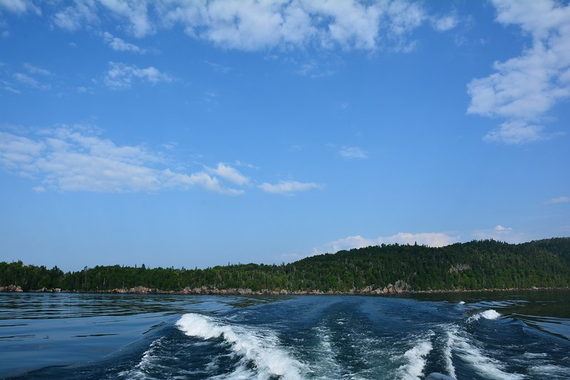 From the Isle Royale Ferry