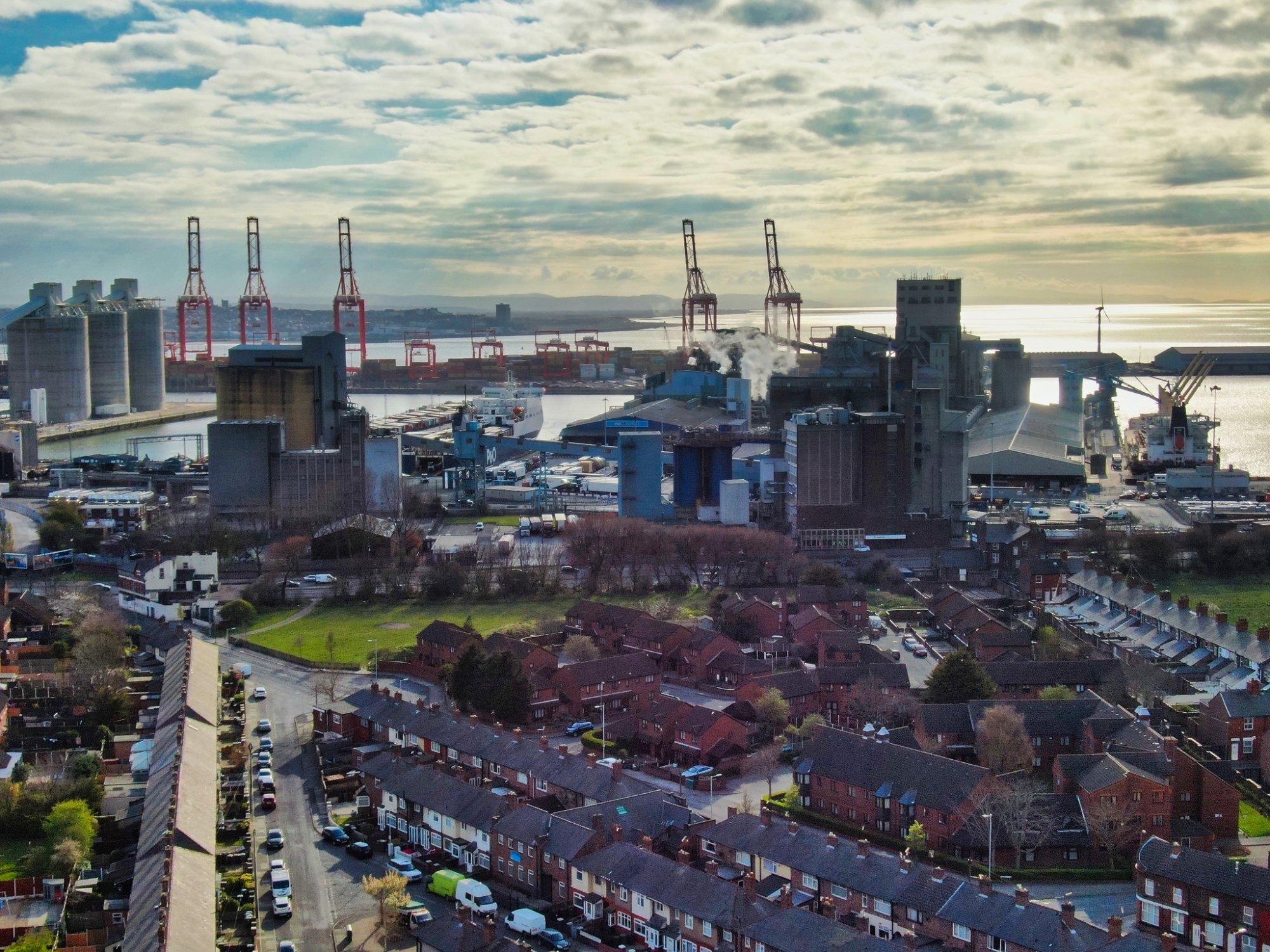 Seaforth Docks by Day