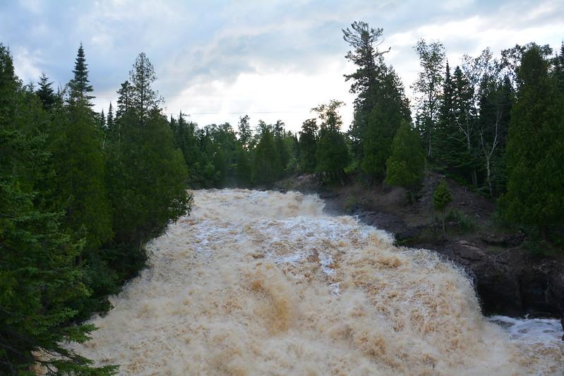 Cross River Falls at Schroeder, Minnesota