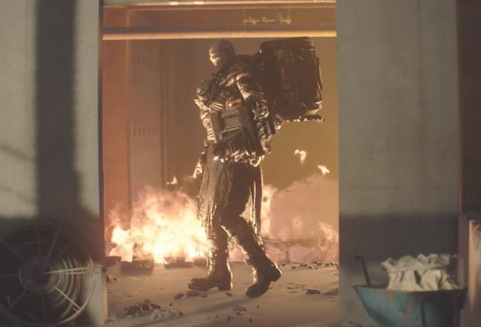 Resident Evil 3 Remake - Nemesis Flammenwerfer