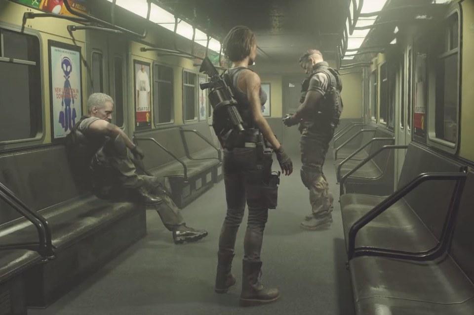 Resident Evil 3 Remake - U-Bahn