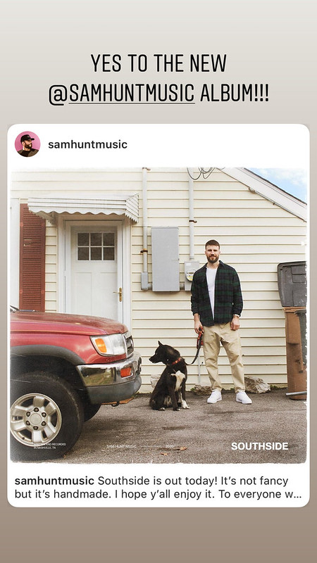 Yes to Sam's new album!