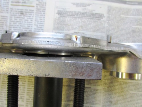Cycle Works Puller Base Slide Under The Grease Cover