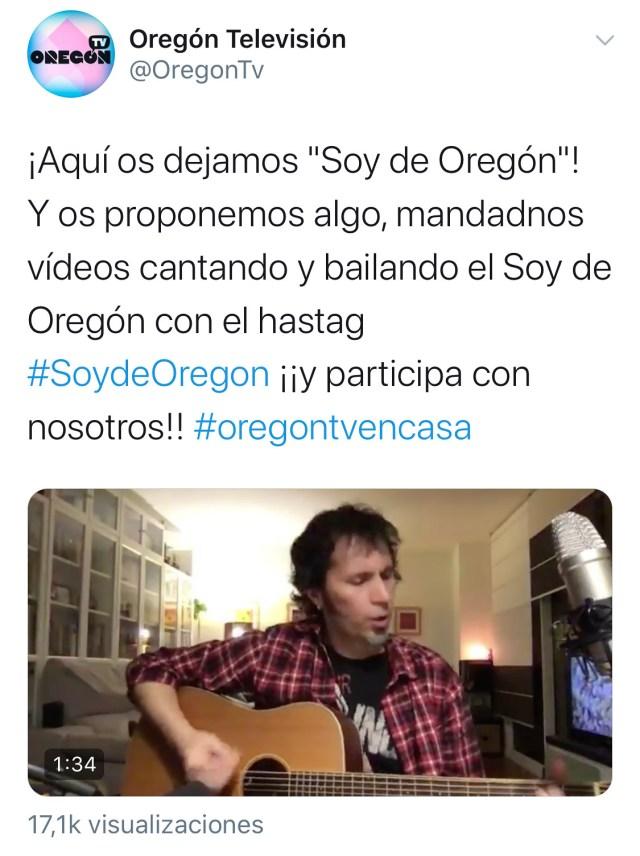 Tuit Oregón Televisión