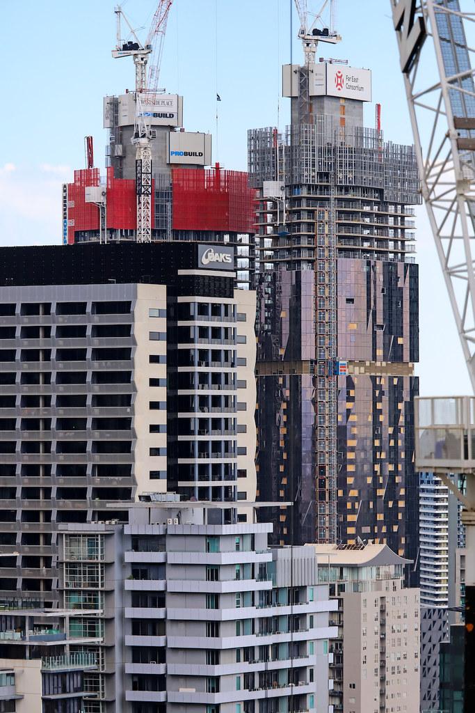 WEST SIDE PLACE UNDER CONSTRUCTION, MELBOURNE :copyright: