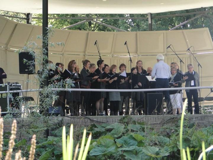 Optreden Muziektuin Beek en Donk 2012