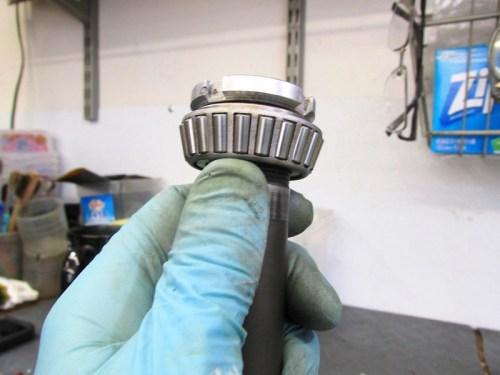 Steering Stem Nut Orientation On Top Of Upper Steering Head Bearing Inner Race