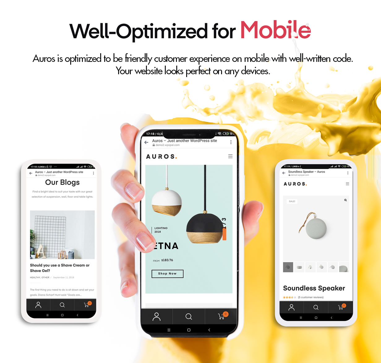 Auros Mobile Friendly