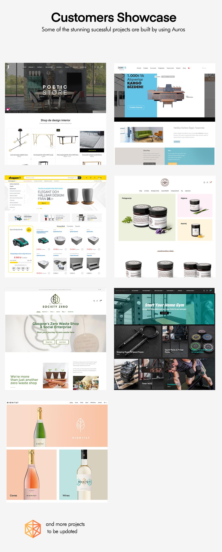 Auros customer projects