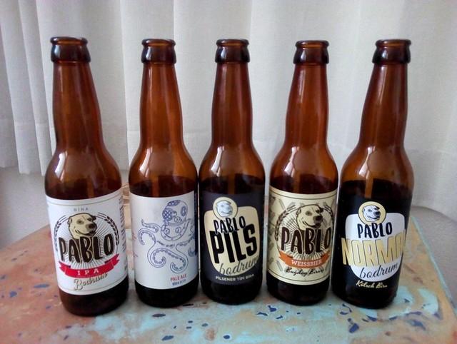IPA, Pale Ale, Pilsner, Weiss, Kölsch from Pablo in Bodrum by bryandkeith on flickr