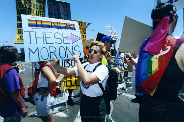 San Diego Pride Parade, c.1995