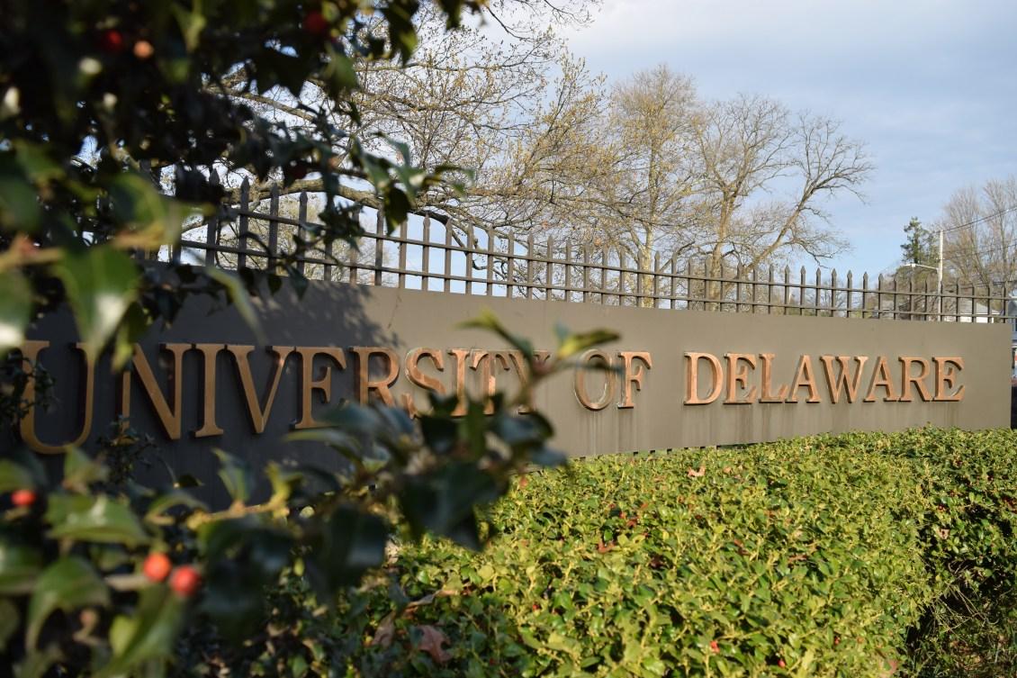 university of delaware sign