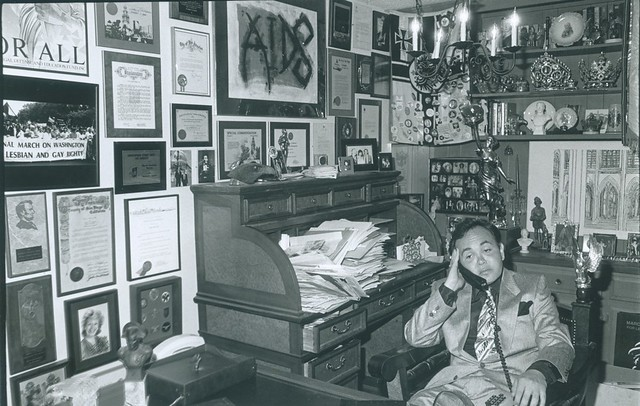 Nicole Murray Ramirez in his Office
