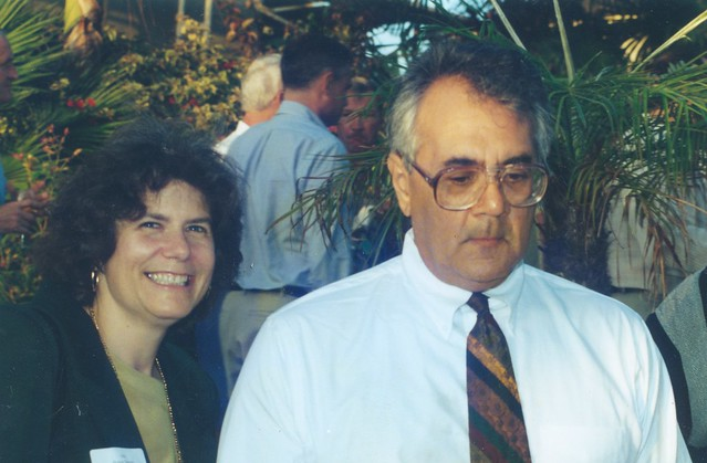 Bonnie Dumanis(left) and Barney Frank, 2001
