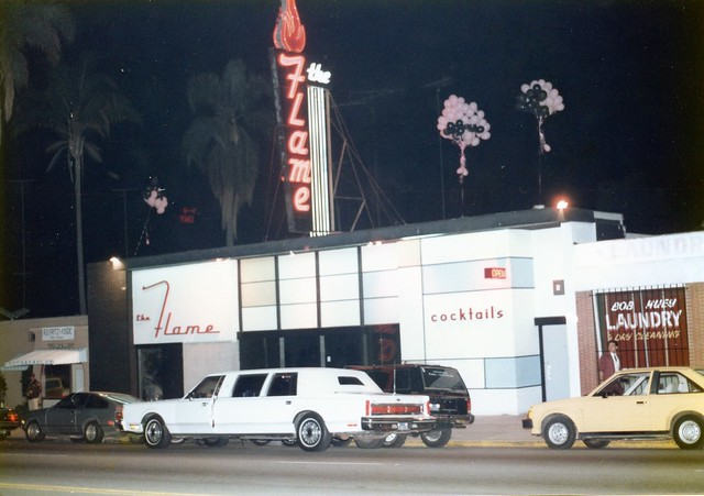 The Flame , Park Blvd San Diego, c.1986