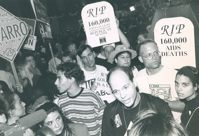 Act-Up protest, 1992