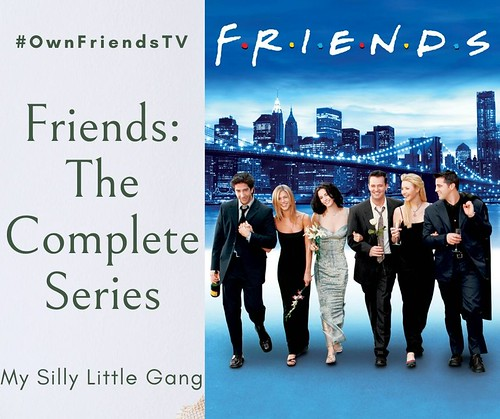 Friends: The Complete Series #OwnFriendsTV #Sponsored #MySillyLittleGang