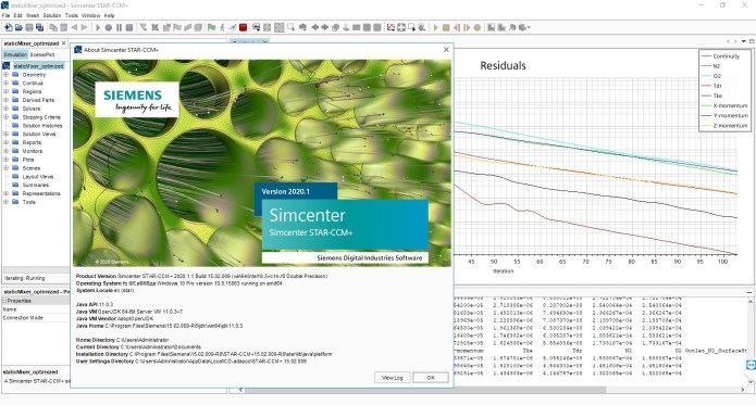 Working with Siemens Star CCM+ 2020.1.1 full license