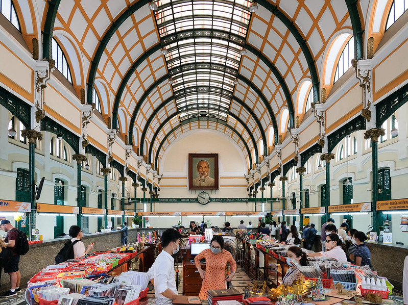 central post office of saigon
