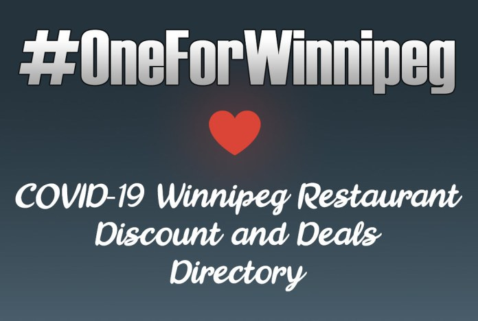 Local Winnipeg Restaurants Offering Takeout & Delivery Deals During The COVID-19 Pandemic