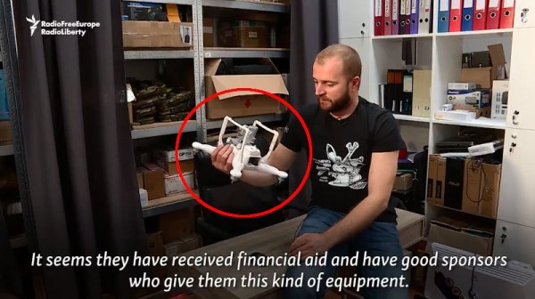 Capture d'écran de la vidéo de RFE-RL
